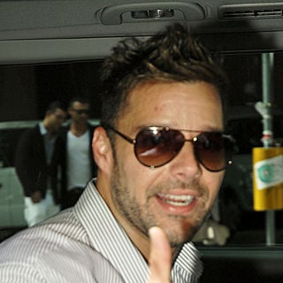 Ricky Martin in The Milan Fashion Week Milano Moda Uomo F/S 2011 - Dsquared2 - Catwalk