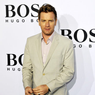 Ewan McGregor in The Boss Black Fashion Show During The Mercedes Benz Fashion Week Berlin Spring/Summer 2011