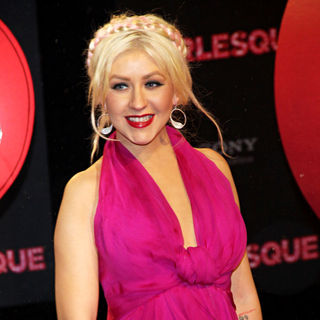 Christina Aguilera - Premiere of Burlesque