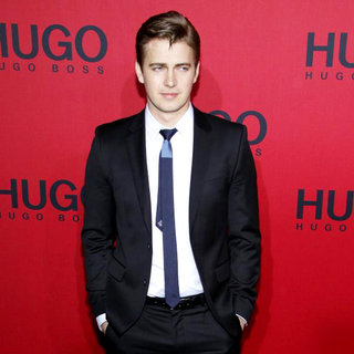 Hayden Christensen in Hugo by Hugo Boss Fashion Show at Mercedes Benz Fashion Week Autumn/Winter 2011 - Arrivals