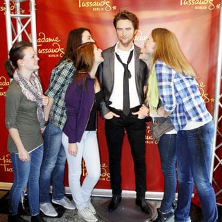 Robert Pattinson in Robert Pattinson Wax Figure at Madame Tussauds