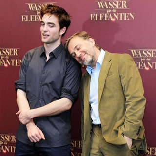 "Robert Pattinson, Christoph Waltz in A Photocall for The Movie ""Water for Elephants"""