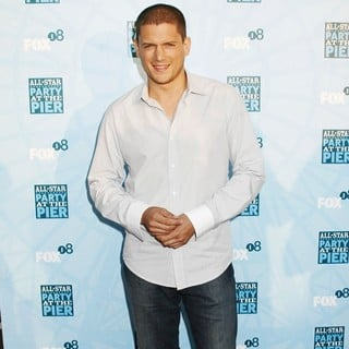 Wentworth Miller in Fox All-Star Party - Arrivals - wentworth-miller-fox-all-star-party-01