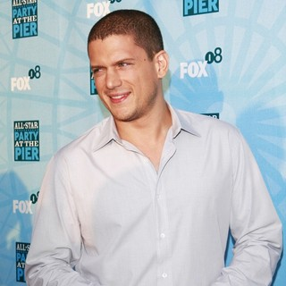 Wentworth Miller in Fox All-Star Party - Arrivals - wentworth-miller-fox-all-star-party-04