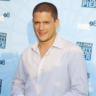 Wentworth Miller in Fox All-Star Party - Arrivals - wentworth-miller-fox-all-star-party-05