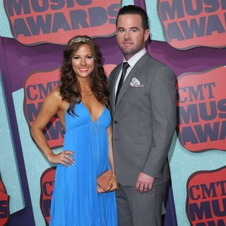 Catherine Werne, David Nail in 2014 CMT Music Awards - Arrivals