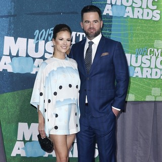 Catherine Werne, David Nail in 2015 CMT Music Awards - Arrivals