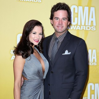 Catherine Werne, David Nail in 46th Annual CMA Awards