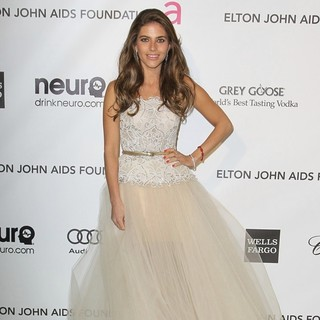 Weronika Rosati in 21st Annual Elton John AIDS Foundation's Oscar Viewing Party