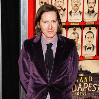 Wes Anderson in The Grand Budapest Hotel New York Premiere