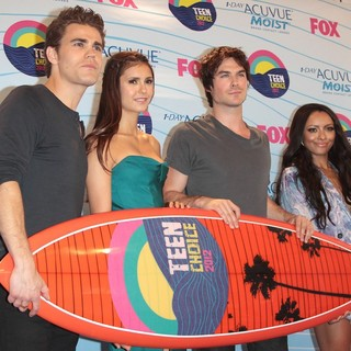 Nina Dobrev - The 2012 Teen Choice Awards - Press Room