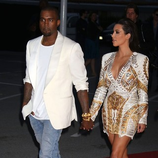 Kanye West - Cruel Summer Premiere - During The 65th Cannes Film Festival - Arrivals
