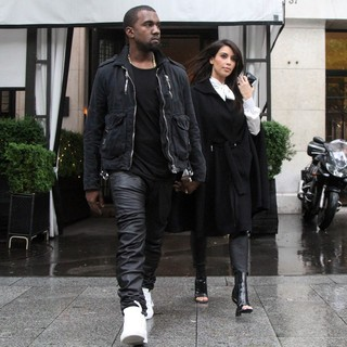 Kanye West, Kim Kardashian in Kim Kardashian and Kanye West After Lunch