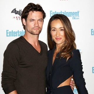 Shane West, Maggie Q in Comic Con 2011 Day 3 - Entertainment Weekly Party - Arrivals