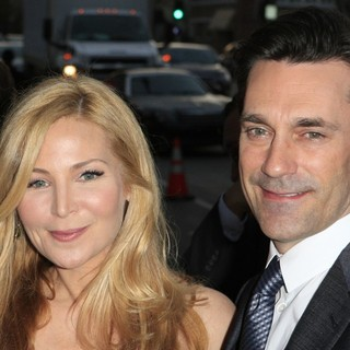 Jennifer Westfeldt, Jon Hamm in AMC's Special Screening of Mad Men Season 5 - Arrivals