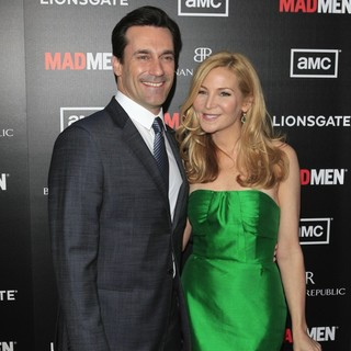 Jon Hamm, Jennifer Westfeldt in AMC's Special Screening of Mad Men Season 5 - Arrivals
