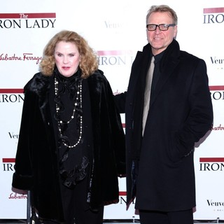 Celia Weston, David Rasche in The New York Premiere of The Iron Lady