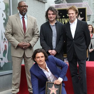 Orlando Bloom Honored with A Star on The Hollywood Walk of Fame