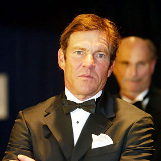 Dennis Quaid in 2010 White House Correspondents Association Dinner - Arrivals