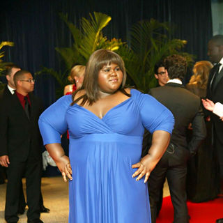 Gabourey Sidibe in 2010 White House Correspondents Association Dinner - Arrivals