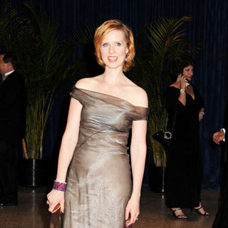 Cynthia Nixon in 2010 White House Correspondents Association Dinner - Arrivals