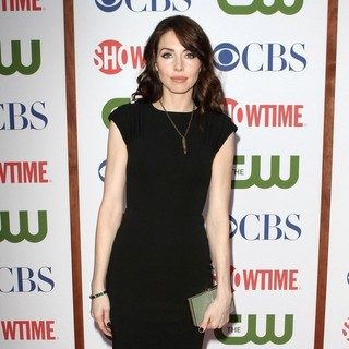 Whitney Cummings in CBS, The CW And Showtime TCA Party