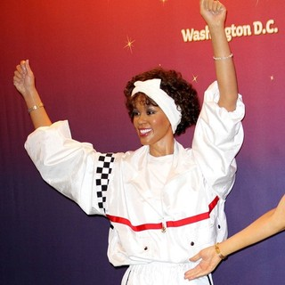 Whitney Houston - Madame Tussauds Unveils Four Wax Figures of Whitney Houston