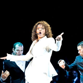 Whitney Houston - Whitney Houston performing live on her UK leg of her 'Nothing But Love' World Tour