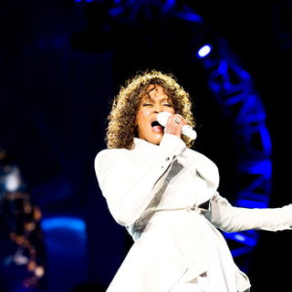 Whitney Houston in Whitney Houston performing live on her UK leg of her 'Nothing But Love' World Tour