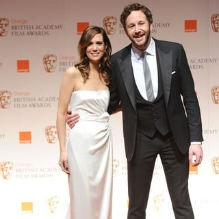 Kristen Wiig, Chris O'Dowd in Orange British Academy Film Awards 2012 - Press Room