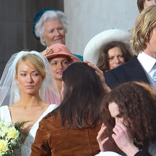 Olivia Wilde, Chris Hemsworth in Filming Takes Place for Rush