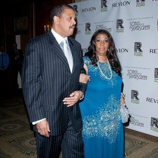 William Wilkerson, Aretha Franklin in The 2012 Concert for The Rainforest Fund Afterparty - Arrivals