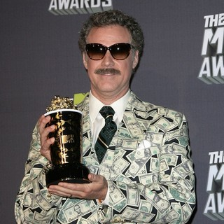 Will Ferrell in 2013 MTV Movie Awards - Press Room