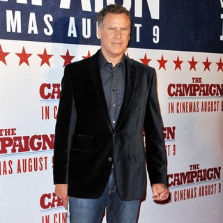 Will Ferrell in The Australian Premiere of The Campaign