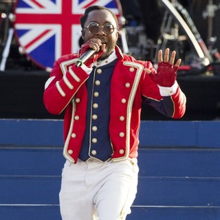 will.i.am in The Diamond Jubilee Concert