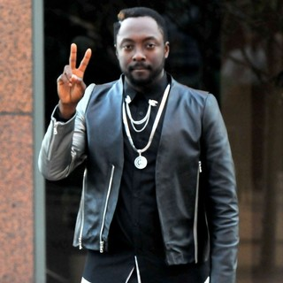 will.i.am Filming on Location His Music Video