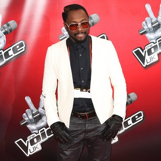 will.i.am in BBC's The Voice UK Launch Photocall