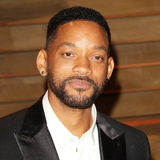 Will Smith in 2014 Vanity Fair Oscar Party