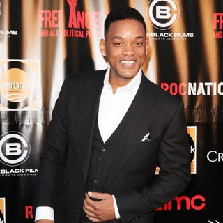 Will Smith in New York Premiere of Free Angela and All Political Prisoners - will-smith-premiere-free-angela-all-political-prisoners-02