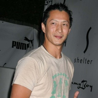 Will Yun Lee in The PUMA Bodywear Launch Party