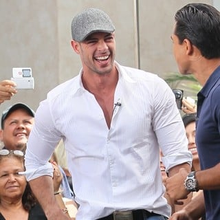 William Levy in An Appearance for The Entertainment Television News Programme Extra
