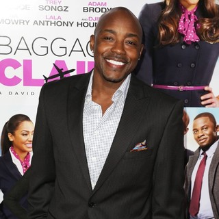 William Packer in Baggage Claim Premiere