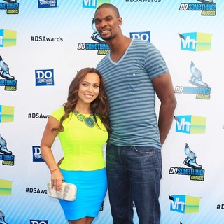 Adrienne Williams, Chris Bosh in The DoSomething.org and VH1's 2012 Do Something Awards