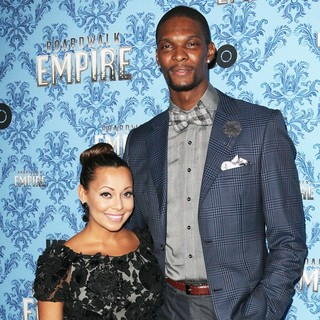 Adrienne Williams, Chris Bosh in Boardwalk Empire Season 2 Premiere