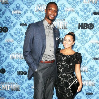 Chris Bosh, Adrienne Williams in Boardwalk Empire Season 2 Premiere
