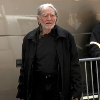 Willie Nelson in The Late Show with David Letterman - Arrivals