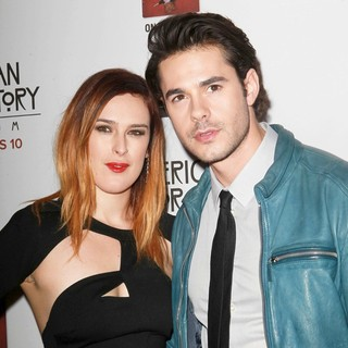 Rumer Willis, Jayson Blair in Premiere Screening of FX's American Horror Story: Asylum