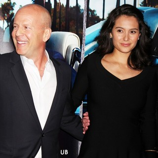 Bruce Willis, Emma Heming in The Los Angeles HBO Premiere of His Way