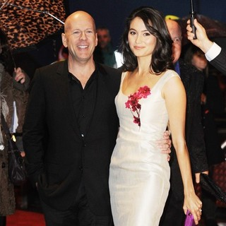 Bruce Willis, Emma Heming in The UK Premiere of RED - Arrivals