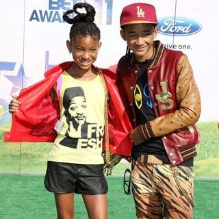 Willow Smith, Jaden Smith in BET Awards 2011